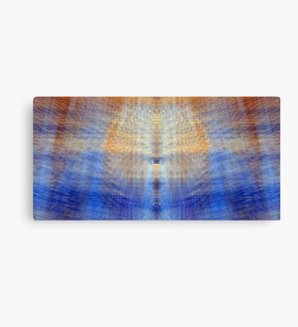 Sterling Blue Canvas Print