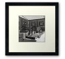 Book Stall, Salamanca Market, Hobart Framed Print