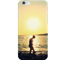 Sunset in Greece iPhone Case/Skin