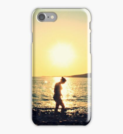 Sunset in Greece iPhone Case/Skin