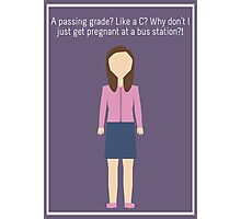 "Annie Edison: ""Passing Grade"" Photographic Print"