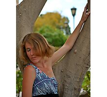 Ashley Gillispie professional model Photographic Print