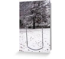 Frozen Memories Greeting Card
