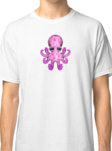 Cute Pink Baby Octopus Classic T-Shirt
