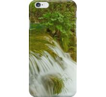 Waterfall in the forest. iPhone Case/Skin