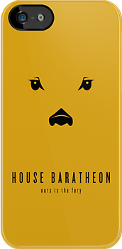 House Baratheon Minimalist iPhone Case by liquidsouldes