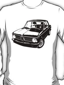 1973 BMW 2002 tii - Black & White T-Shirt