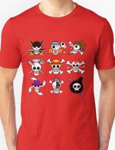 Mugiwara Flags T-Shirt