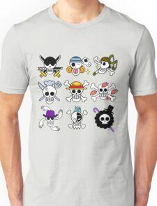 Mugiwara Flags Unisex T-Shirt