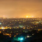 Pretoria at night #3 by Rudi Venter