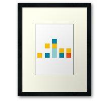 Minimal Simpsons Framed Print