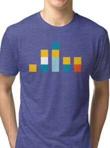 Minimal Simpsons Tri-blend T-Shirt