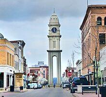 Town Clock (Dubuque) by Nadya Johnson