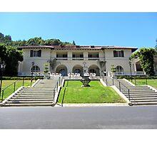 Villa Montalvo in California Photographic Print