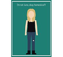 "Britta Perry: ""I'm Not Juno"" Photographic Print"