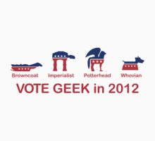 VOTE GEEK in 2012 by SevenHundred
