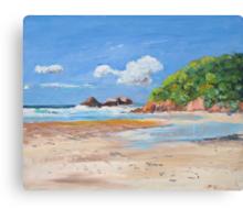 Kings Beach Broken Head  Canvas Print