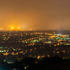 Pretoria at night #5 by Rudi Venter