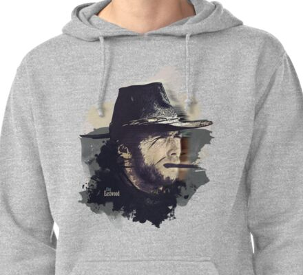 Clint Eastwood Pullover Hoodie