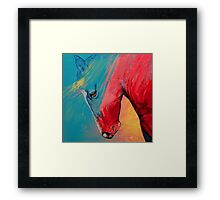 Painted Horse Framed Print