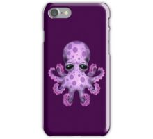 Cute Purple Baby Octopus iPhone Case/Skin