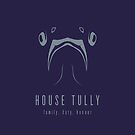 House Tully Minimalist iPhone Case by liquidsouldes