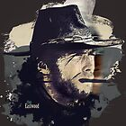 Clint Eastwood by Jamal Nasir