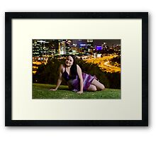 Kristy , King Park Framed Print