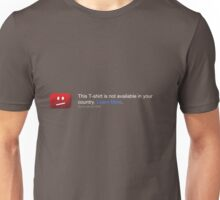 This T-shirt is not available in your country Unisex T-Shirt