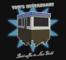 "Seinfeld ""TOM'S RESTAURANT"" SHIRT by JohnyGeeThe2nd"