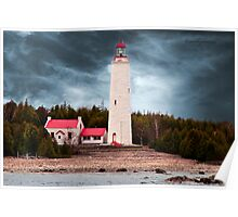 Cove Island Lighthouse - Ontario Poster