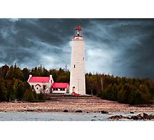 Cove Island Lighthouse - Ontario Photographic Print