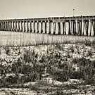 **PIER INTO THE GULF** by RGHunt