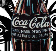 vintage coke Sticker