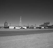 Lathrop Wells, Nevada by Frank Romeo