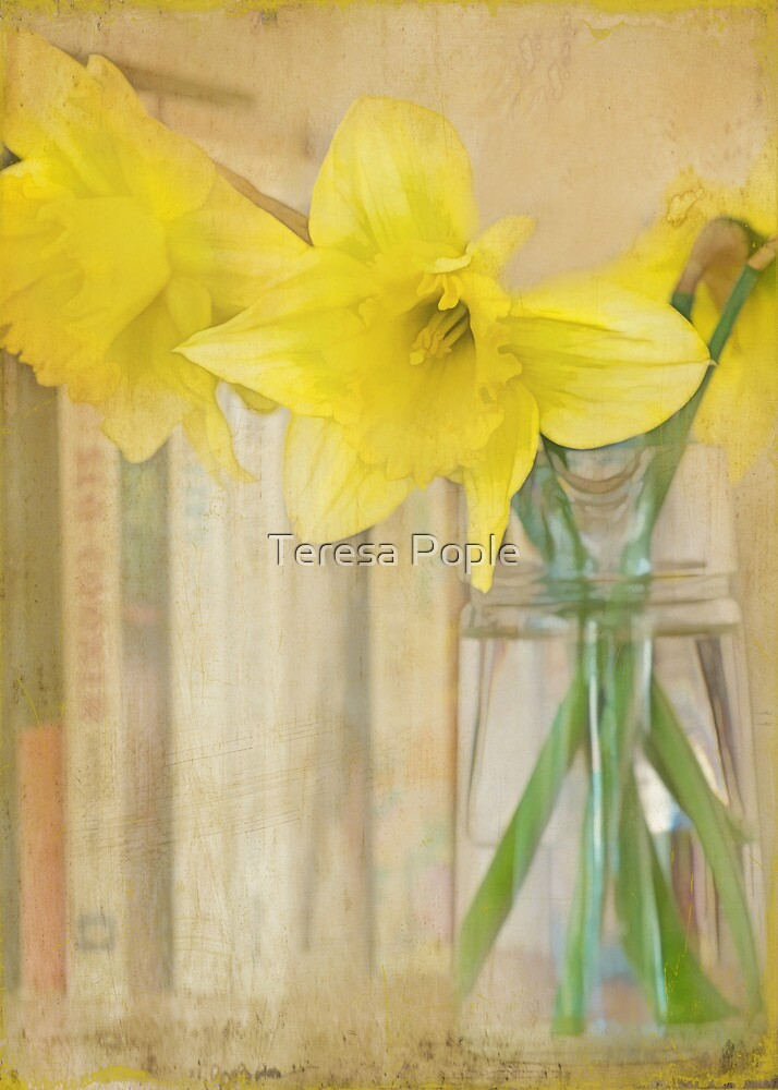 the colour of spring by Teresa Pople
