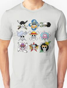 Mugiwara Flags New World T-Shirt