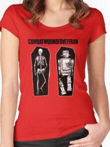 Combatwoundedveteran T-Shirt Women's Fitted Scoop T-Shirt