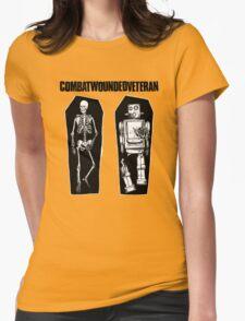 Combatwoundedveteran T-Shirt Womens Fitted T-Shirt