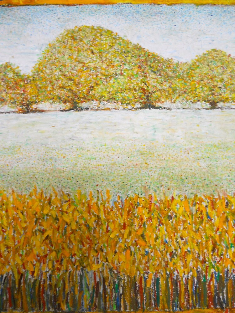 landscape with trees by Wayne  Womac