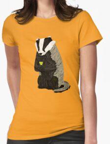 Hufflepuff Badger Womens Fitted T-Shirt