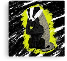 Hufflepuff Badger Canvas Print