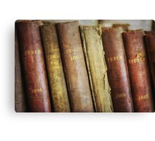 Old books. Canvas Print