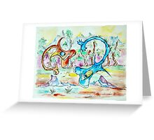 Loh Nes Guitars Greeting Card