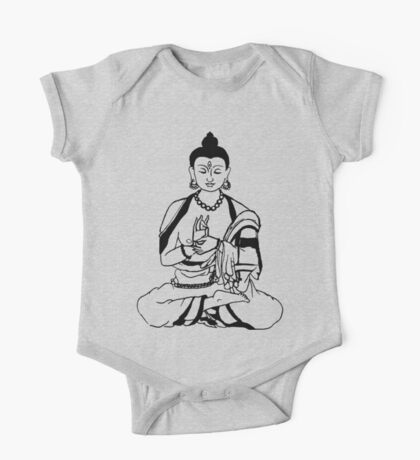 Big Buddha Design One Piece - Short Sleeve