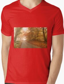 Autumn mist Mens V-Neck T-Shirt