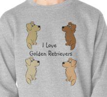 I Love Golden Retrievers! Pullover