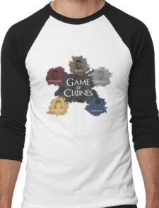 Game of Clones Metal Gear Men's Baseball ¾ T-Shirt