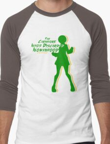 The Carnivore Who's Discarded Womanhood  Men's Baseball ¾ T-Shirt