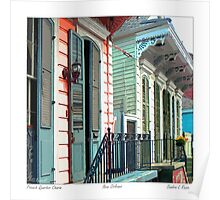 French Quarter Charm Poster